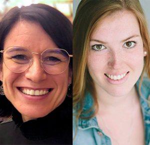 Dr. Susanne Mischo und Laura Müller von SUSHI
